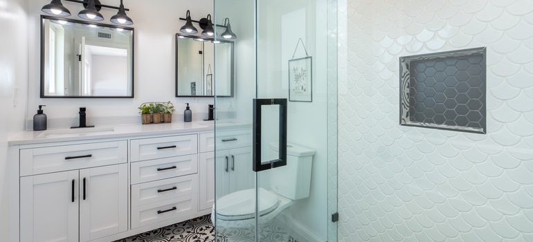 A beautiful bathroom that you can have if you make the reight decisions about Where to start with remodeling your bathroom.