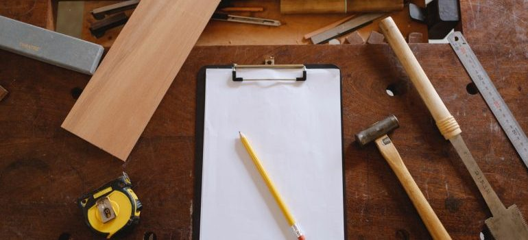 tools that can be part of risks of DIY home remodeling projects